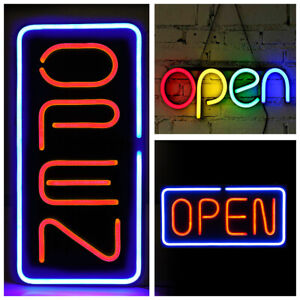 Super Bright Led Neon Light Animated Motion With On off Store Open Business Sign