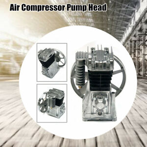 Universal Air Compressor Pump Head Piston Cylinder Oil Lubricated With Silencer