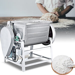 2 Speed Commercial Dough Food Mixer 1500w 30 Quart Stainless Steel Pizza Bakery