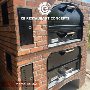 Marsal Mb42 Double Stack Brick Pizza Oven