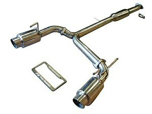 Fits Nissan 350z Z33 03 08 Top Speed Pro 1 N 1 Dual Performance Exhaust System