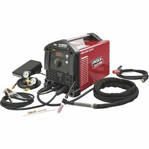 Lincoln Electric Square Wave Tig 200 Welder 120 230 Volts 10 200 Amp Output