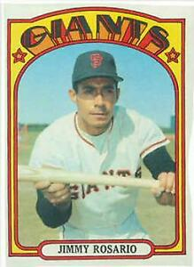 1972 Topps 366 Jimmy Rosario Rc Buy 10 Free S H