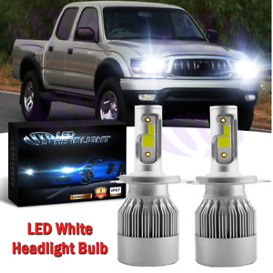 Bright Led Headlight Conversion Kit Bulbs For 1997 2004 Toyota Tacoma Hi lo Beam