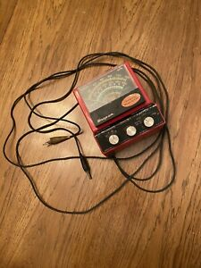 Snap on Mt 926 Model A Multimeter Ohm Voltmeter untested Used Vg Fs