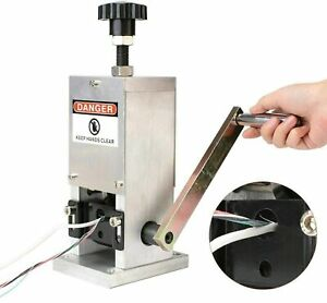 Manual Motor Wire Stripping Machine Copper Recycling Cable Peeling Stripper