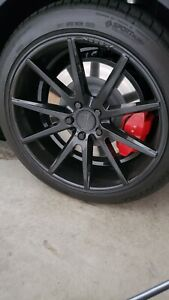 Vossen 20 Inch Wheels Vfs 1 20 X 9 5 X 120 Gloss Black 35 Et Looks New