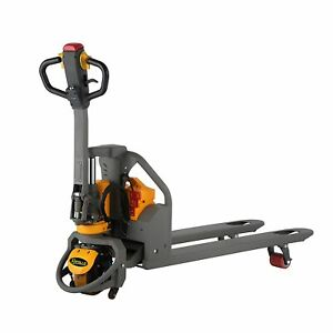 Apollolift Full electric Lithium Pallet Jack Truck 3300lbs Capacity 48 x27 forks