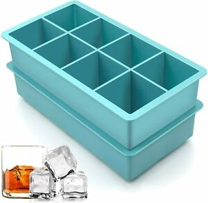 Big Ice Cubed Maker Large Cube Square Tray Molds Whiskey Ball Cocktailssilicone2