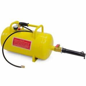 10 Gallon Air Tank Combo Tire Inflator Rim Bead Seater Breaker Breaking Blaster