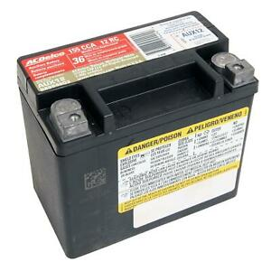Acdelco Aux12 Battery Auxiliary Agm 155 Amps Chevrolet Each