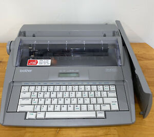 Brother Sx 4000 Portable Daisy Wheel Electronic Typewriter Fully Functional