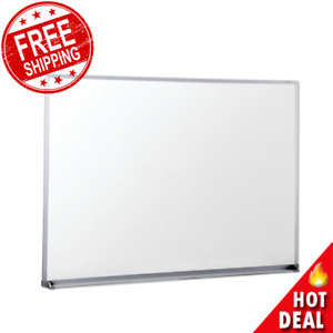 Dry Erase Board 48 X 36 Office Whiteboard Satin finished Aluminum Frame New