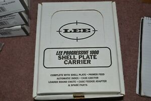 LOT #NEW LEE PROGRESSIVE 1000 SHELL PLATE #7 FOR 30 M 1 CARBINE $29.99