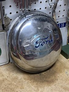 Vintage 1942 Ford Dog Dish Poverty Hubcap
