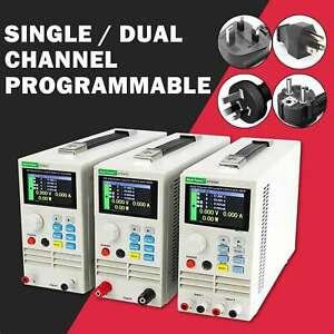 Single dual Channel Programmable 400w Dc Electronic Load Battery Load Tester New