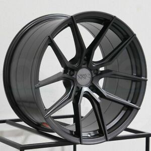 Xxr 559 19x8 5 19x10 5x114 3 20 20 Graphite Wheels 4 73 1 19 Inch Staggered Ri