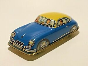Vintage 1950s Tin Porsche 356 A Made In Germany By Johann H fler