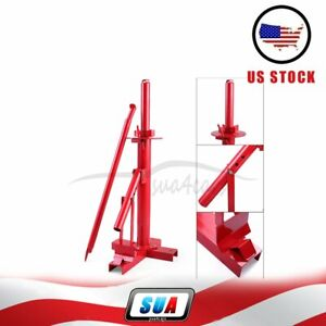 Portable Hand Tire Changer Bead Breaker Manual Diy Tools Mounting Home Shop Auto