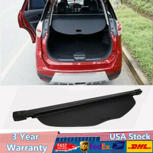 Updated Cargo Cover For 2014 2020 Nissan Rogue Trunk Shade Security Shield Shelf