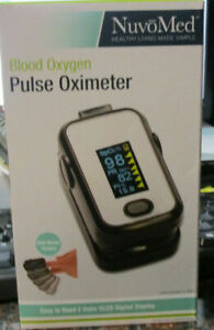 Nuvomed Blood Oxygen Pulse Oximeter