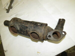 Nos 1942 1946 Ford Accessory Hot Air Heater Manifold Assembly 1940 1941 F 1 4