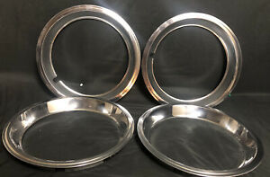 X4 15 Mid 70s Chevys Wheel Trim Rings Stainless Steel Decent Used