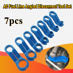 7pcs Ac Fuel Line Disconnect Tool Angled Quick Disconnect Tool Set 7 Sizes
