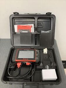Snap on Solus Ultra Eesc318 14 2 Full Function Diagnostic Scanner W Case