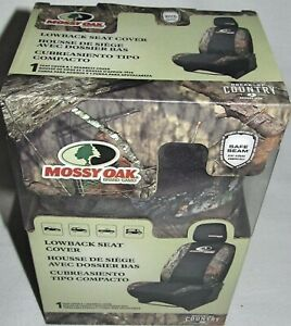New 1 Mossy Oak Break up Country Camo Low back Universal Car Seat Cover