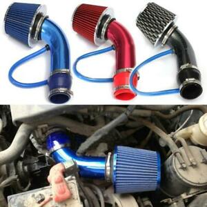 Black Cold Air Intake Filter Induction Kit Pipe Power Flow Hose System Car Auto Fits 2004 Corolla