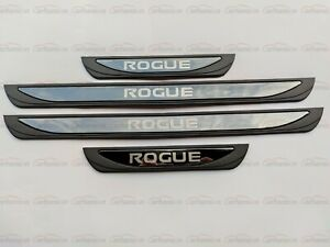 For Nissan Rogue Car Accessories Door Sill Scuff Plate Cover Protector 2022 Trim