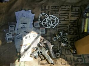 Devilbiss Gti Spray Gun Parts Lot