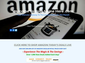 Amazon Affiliate Website Business For Sale Fully Stocked Millions Of Items