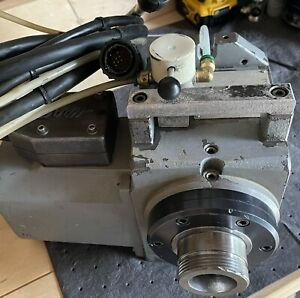 Haas Ha5c Rotary Indexer brushless Sigma 1 Motor Pneumatic Collet Closer