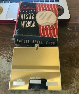 Nos Mirror Vintage Original Auto Part In Box