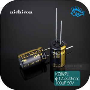 100uf 50v Kz Muse Series Nichicon Fever Audio Electrolytic Capacitor 12 5x20mm