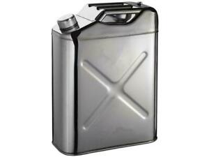 Tgt4x4 304 Stainless Steel Jerry Can 5 Gallon Water Can 5gallon 20 L Portable