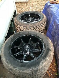 Fuel Rims And Tires