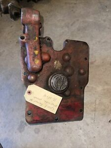 Farmall Ih H Early Super H Sh Hydraulic Belly Pump Assembly Cover