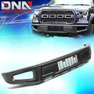 For 2015 2018 Ford F150 Raptor Style Steel Front Lower Bumper Assembly Face Bar
