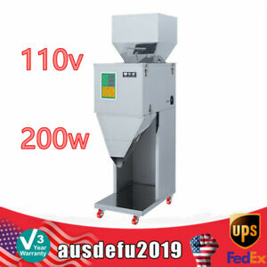 10 999g Automatic Powder Racking Filling Machine Weigh Filler Seed Grain 200w