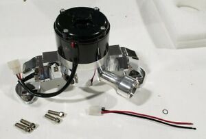 Chevy Bbc 454 35 Gpm Electric Water Pump chrome