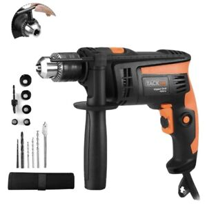 Hammer Drill Tacklife 7 5amp Corded Drill With 3000rpm Variable Speed 1 2 Inch