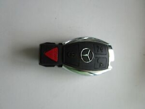 Genuine Oem Mercedes Benz 4 Button Circle Panic Remote Key Fob Used