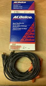 Nos Ac Delco Small Block Chevy Spark Plug Wire Set 508n