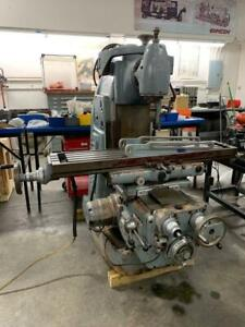 2 Supermill Model u2 Horizontal Mill With Vertical Head Stock 14795