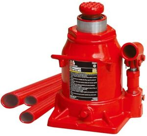 Big Red T92007a Torin Hydraulic Stubby Low Profile Welded Bottle Jack 20 Ton 4