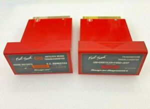 2 Snap On Mt2500 Scanner 1999 Trans And Abs Domestic Asian T S Cartridges