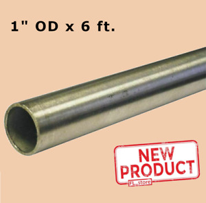 Round Tubing 304 Stainless Steel 1 Inch Od X 6 Feet Welded 0 930 Inch Inside Dia